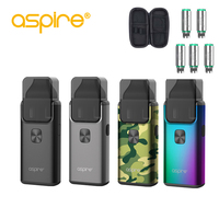 Free gift Aspire Breeze 2 AIO Kit Built in 1000mAh Battery with 2ml/3ml Tank Atomizer newest Electronic Cigarette Vape Kit