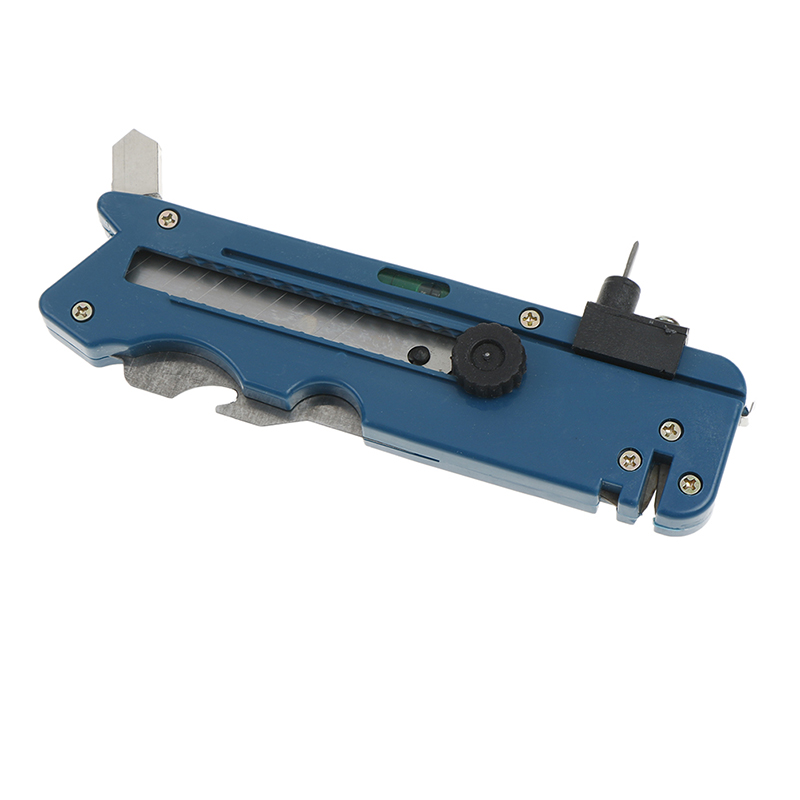 Professional Glass Cutter Tool With Measure Ruler Multifunction Glass Tile Cutter Metal Cutting Kit