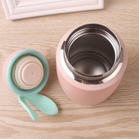 Portable Bottle Water Bottle Cute Rabbit Mini Thermos Cup Mug Travel Vacuum 304 Stainless Steel Insulation