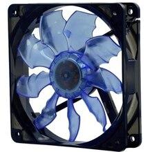 Arsylid tw-1225l 12 см 120 мм вентилятором синий красный цвет светодиодные вентилятор охлаждения для корпуса компьютера