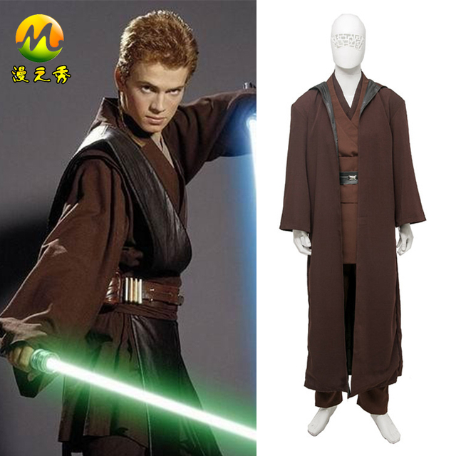 star wars anakin skywalker cosplay costume for adult men customs party carnival halloween costume star wars