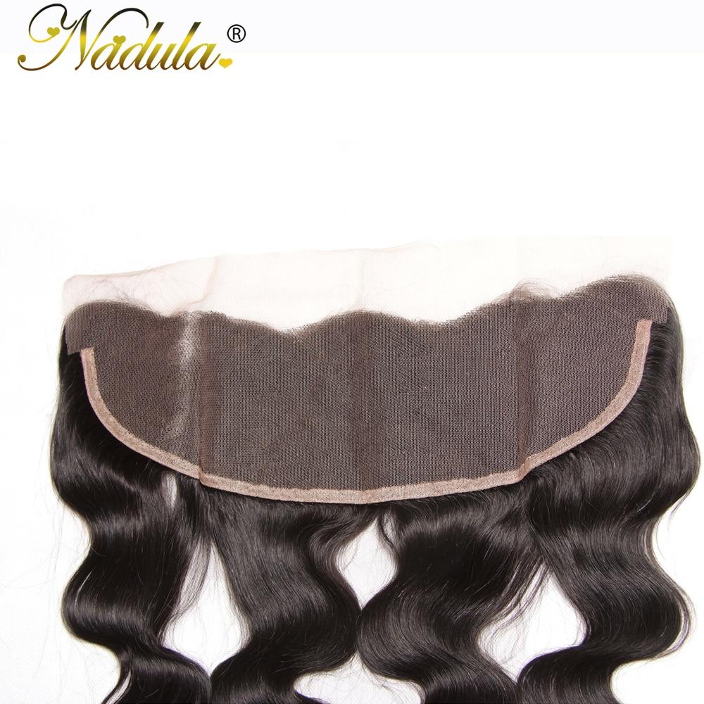 Nadula Hair 13x4 Lace Frontal Body Wave Hair   Hair s 100%  s Closure 10-20INCH 6
