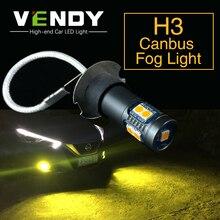 2 chiếc H3 Cao Cấp cho Xe Hơi Sương Mù LED 12V Đèn Cho Xe Lexus LX470 ES300 IS300 SC430 GX470 Subaru Tribeca Impreza Di Sản