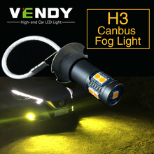 2pcs H3 מתח גבוה רכב אוטומטי LED ערפל אורות 12V הנורה מנורת לקסוס LX470 ES300 IS300 SC430 GX470 סובארו טרייבקה אימפרזה Legacy