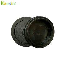 50 pares/lote tampa do corpo da câmera + tampa da lente traseira para alpha dslr série a290 a380 a390 a850 a230 a300