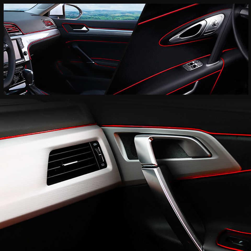 5M Verde Strisce Interne per Auto Riempitivi per Fughe di Automobili Linea di Stampaggio Accessori Decorativi Striscia Flessibile per Riempitivo Fai-da-Te Linea Decorativa