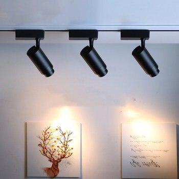 Cob Led Track Lights Beam Angle Adjustable Spot Light