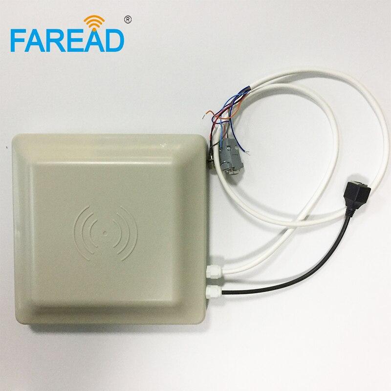 860-960 MHz UHF IP 67 RFID Okuyucu aralığı 3-5 m RS232