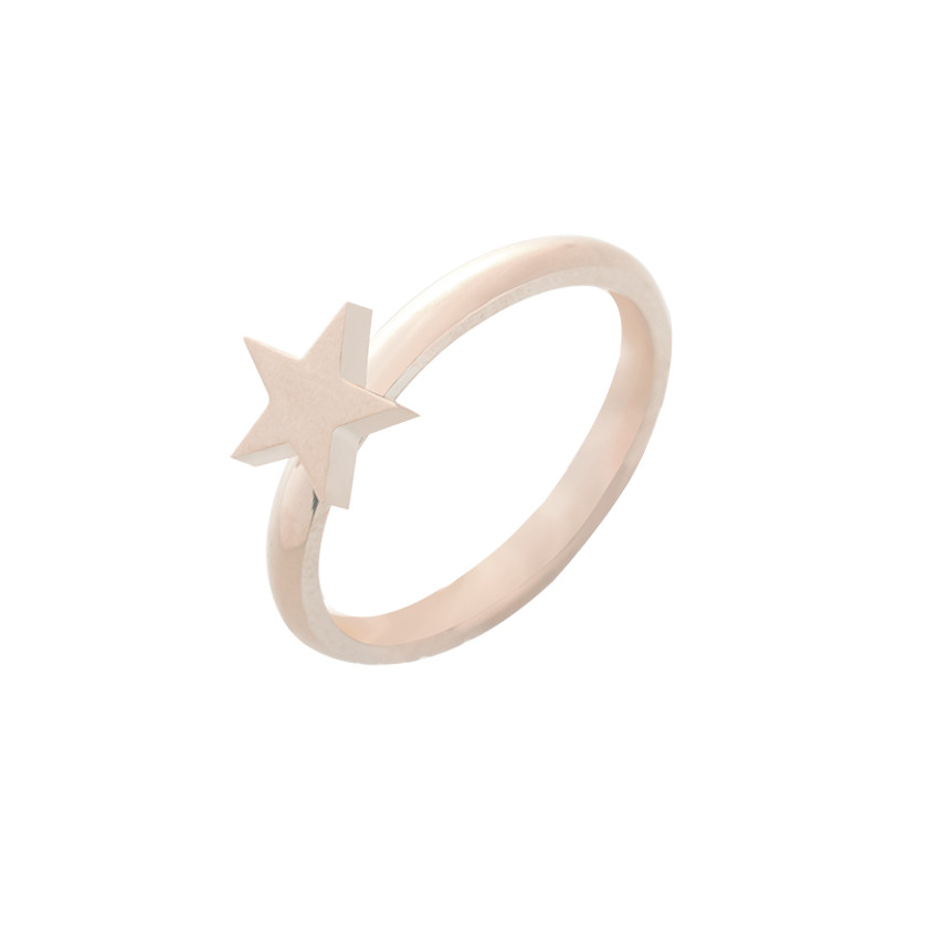 Fashion Tiny Star Mid Knuckle Rings for Women Party Gifts Love Finger Ring Gold Silver Rose Gold Jewelry Bague Bijoux BFF Gifts in Engagement Rings from Jewelry Accessories