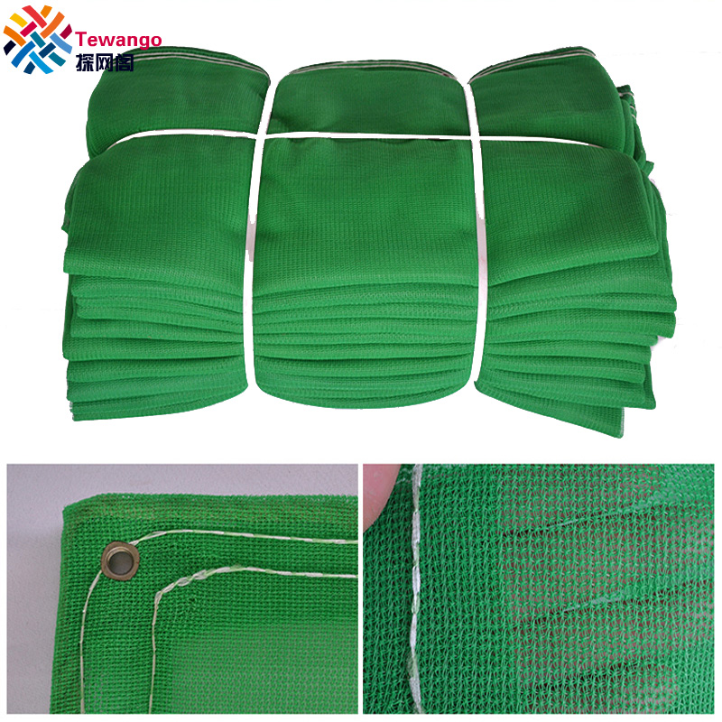 Tewango 6FTX 19FT Green Mesh Net Poly Shade Sail Safety Netting Construction Sites Scaffold Debris Fire Retardant 1.8x6 meters|Shade Sails & Nets| |  - title=