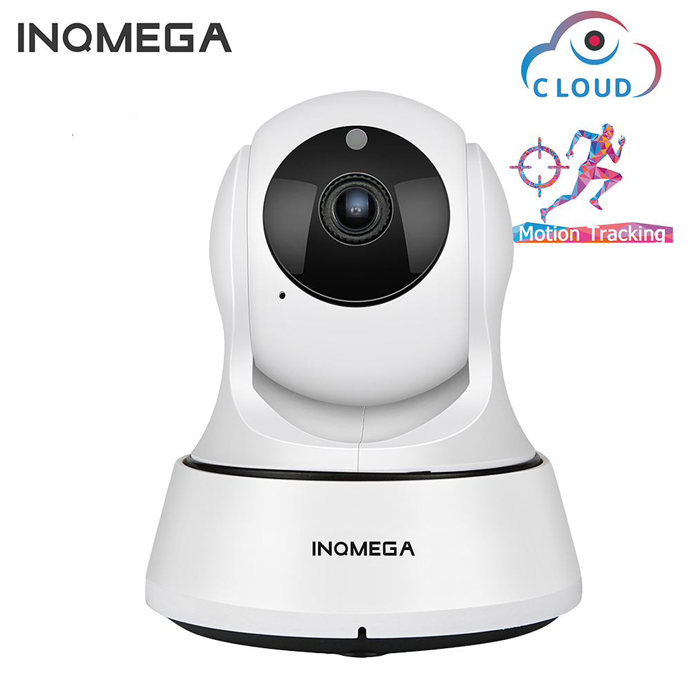 INQMEGA 720P Cloud IP Camera WiFi Cam Auto Tracking 2MP Home Security Surveillance CCTV Network Camera Night Vision Baby Monitor
