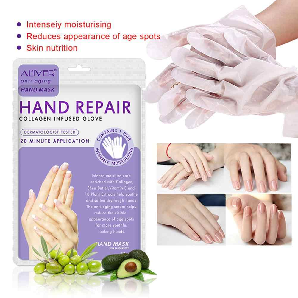 VIBRANT GLAMOUR Hand Mask Hand Care Exfoliating Peeling Nourish Moisture Whitening Hands Gloves Skin Care Beauty Tools
