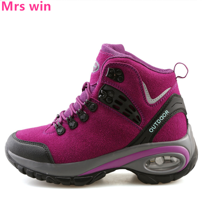 Women Hiking Shoes New Autumn Winter AIR Outdoor Boots Women Sneakers Cool Trekking Moun ...