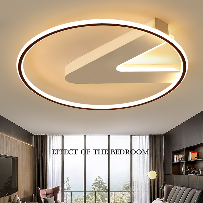 modern Led chandelier for living room bed room foyer dimmable chandelier lights surface mounted 10 15square