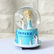 Grocery Wholesale Rotating Crystal Ball Music Box Lovers Friends Student Gifts Sister Love Water Balls