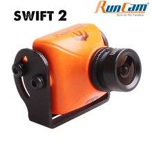Runcam スウィフト 2 fpv 1/3 ccd 600TVL 2.3 ミリメートル/2.1 ミリメートルレンズマイクロカメラ osd ir ブロック pal