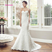 LEIYINXIANG Bride Dress Wedding Dress Backless