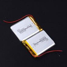 3,7 в 1500 мАч 504050 литиево-полимерный lipo аккумуляторная батарея для Mp3 Mp4 gps PAD DVD DIY электронная книга bluetooth Колонка навигатор DVR