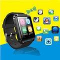 "U8 barato reloj Bluetooth inteligente 1.44 "" pantalla táctil a Color de 230 mah batería podómetro incorporado de la cámara remota Push mensaje, etc"