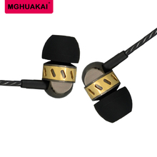 Mouth metal earphone, ear phone computer common earphone