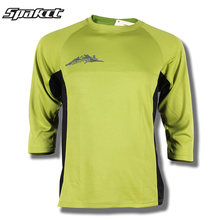 SPAKCT New Downhill Jersey Mountain Bike Motorcycle MTB DH Cycling Jersey  Motocross Three-quarter Sleeve Shirt Ciclismo Clothes 10c0fc6fe