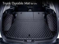 For Honda CRV 2018 2017 2012-2016 Rear Tail Car Trunk Mat Durable Boot Carpets Full Coverage Car Covers