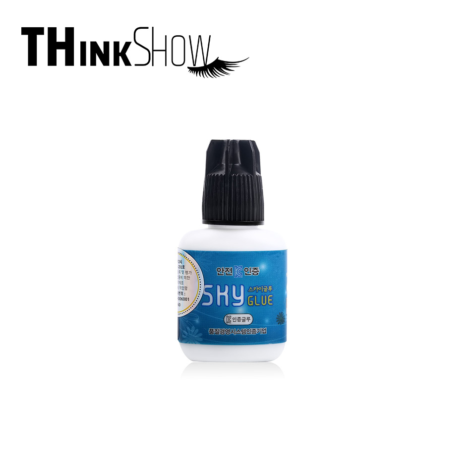 10ml Eyelash Extension Glue Korea Sky Glue 3 4s Fast Dry Best Adhesive for Eyelash 10ml Black Cap Sky Glue in Eyelash Glue from Beauty Health