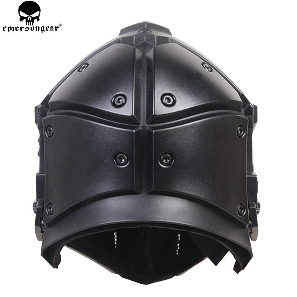 EMERSONGEAR Ronin ventilateur plein Mas lunettes masque masque en plastique 5 pièces lentille un ensemble masque de protection lunettes emerson casque BD6646 - 6