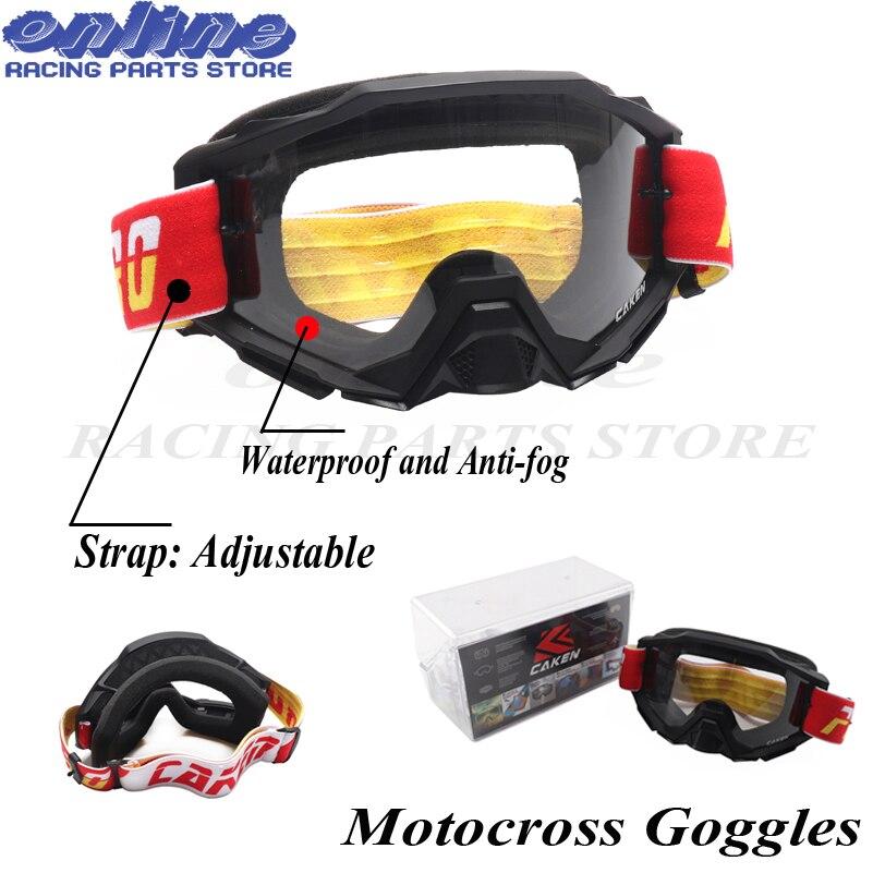 Motocross lunettes lunettes Ski de fond Snowboard vtt masque Oculos Gafas Motocross moto casque Dirt Bike MX lunettes