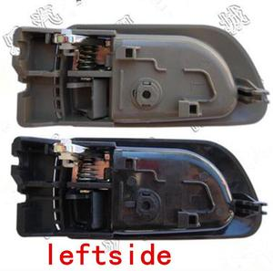 Image 3 - A PAIR BLACK gray Beige INSIDE DOOR HANDLE FOR Great wall haval hover H3 H5 2010 2013 inside Handle car handle door knob