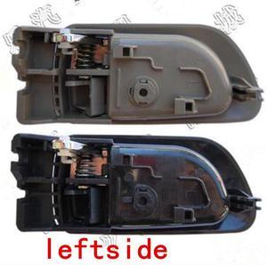 Image 3 - זוג שחור אפור בז בתוך ידית דלת haval קיר רחף H3 H5 2010 2013 בתוך ידית מכונית ידית דלת ידית