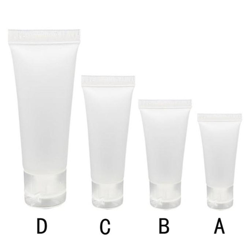 Travel Bottle Empty Tube Cosmetic Cream 20ML/30ML/50ML/100ML Travel Lotion Containers Bottle 1l food grade plastic glasswares chemical reagent bottle pet empty cosmetic containers 10pc large sample bottle food containers