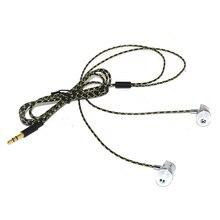 Sluchátka do uší sluchátka sluchátka s mikrofonem pro mobilní telefon iPhone MP4
