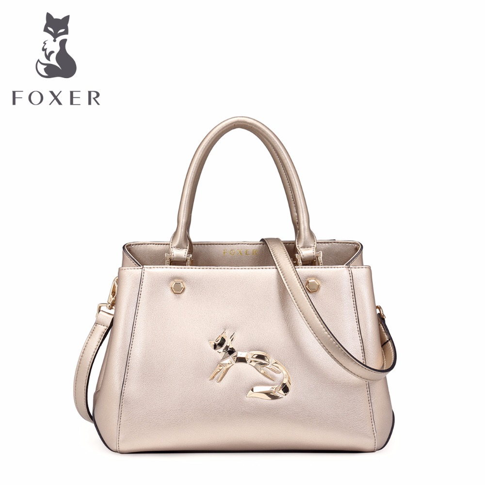 FOXER ladies luxury handbag women travel shoulder bag split leather designer handbags women messenger bags fashion cross body 12v 160psi portable digital car auto tyre pump tire inflator with light electronic air compressor inflator pump