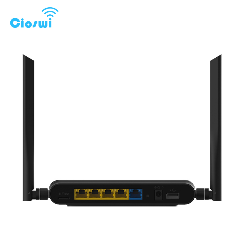 Image 4 - 5G Wireless WiFi router VPN wi fi repeater 1167Mbps DDR2 64MB 2.4GHz/5GHz dual band less interference access point long range-in Wireless Routers from Computer & Office
