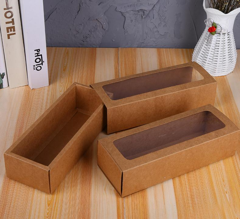 Worldwide Delivery Cardboard Boxes For Packaging With Window In