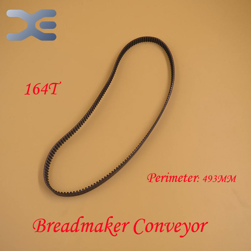 Breadmaker Conveyor Belts 164T Perimeter 492mm Kitchen Appliance Parts Bread Maker Parts Free Shipping