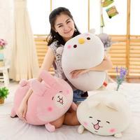 60*40cm Japan Anime Kanahei Animal Small Pendant Cute Rabbit Chicken Plush Toys Stuffed Dolls Kids Gift
