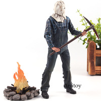Friday the 13th Toys Jason Voorhees NECA Action Figure Movies Horror PVC Friday the 13th Part 2 Collection Model Toy 19cm