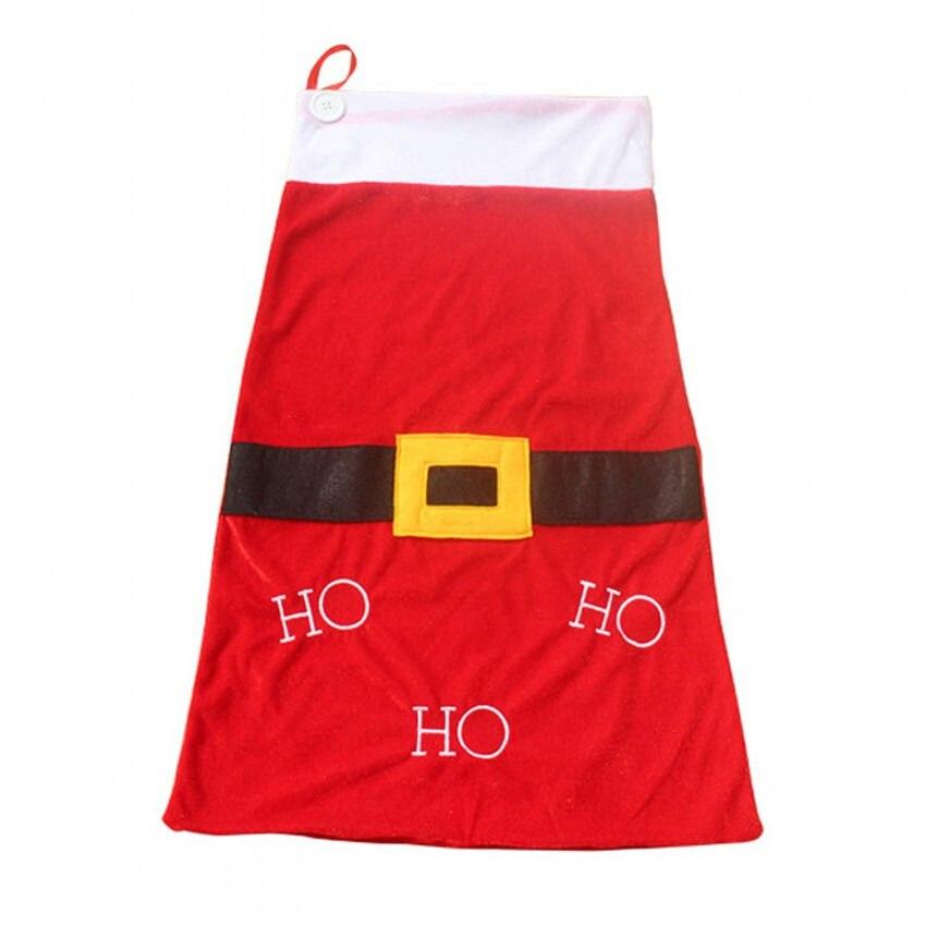 Hot Xmas Stocking Santa Christmas Gift Storage Big Bag Sacks Organizer Pouch Red