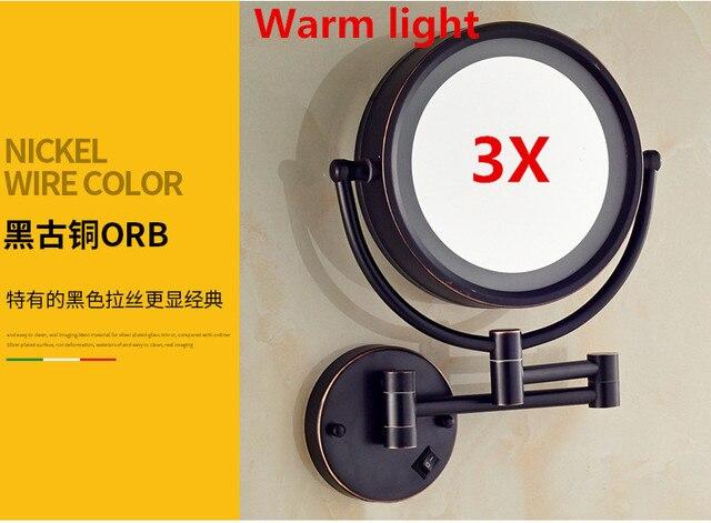 Sierstrip Chroom Badkamer : Badkamer spiegel led make 8 inch 3x wandmontage ronde vergrootglas