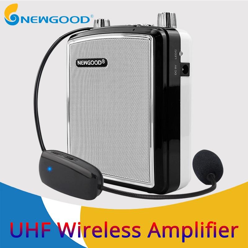 20 W Portable sans fil amplificateur de voix en plein air discours enseigner haut-parleur UHF sans fil Microphone amplificateur FM Radio haut-parleur enregistrement