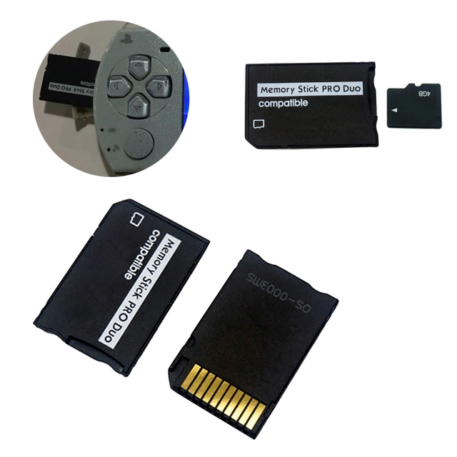 Centechia for Micro SD to Memory  card adapter Stick Adapter For PSP Sopport Class10 for micro SD 2GB 4GB 8GB 16GB 32GB