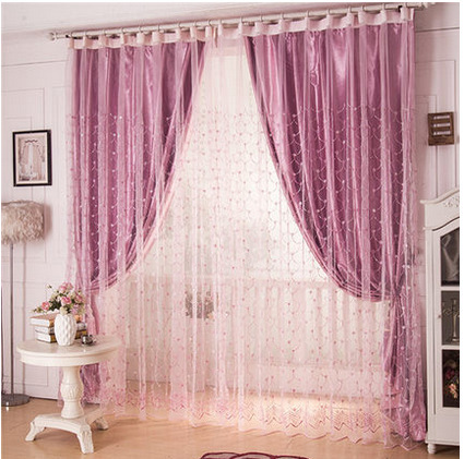 Modern garden home blackout curtain fabric screens high quality ...