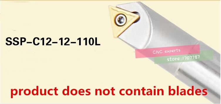 45° (0mm-12mm)Chamfering drill tool holder SSP C12-12-110-1F Straight shank