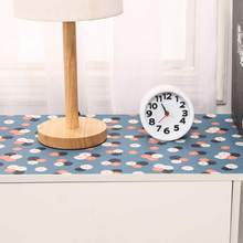 1PC Oxford Cloth Waterproof Shelf Drawer Liner Cabinet Multi-Purpose Table Cover Mat Non Adhesive for Kitchen Cupboard Placemat