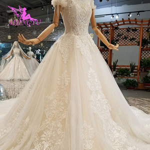 Image 3 - AIJINGYU Wedding Dres Russian Federation Lebanon Shanghai Plus Size Pakistani 2021 2020 Wedding Dresses and Gowns
