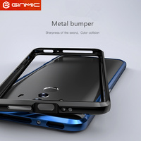 Original GINMIC Brand Phone Case Luxury Aluminum 2 In 1 Slim Metal Bumper Frame Case For