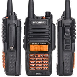 Image 3 - BaoFeng UV 9R Plus Waterproof Handheld Walkie Talkie 8Watts UHF VHF Dual Band IP67 HF Transceiver UV 9R Ham Portable Radio