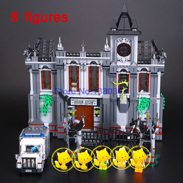 Dc Super Heroes Building Blocks Batman Arkham Asylum Breakout